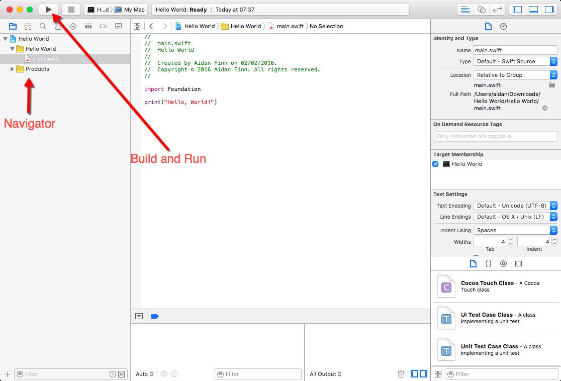 Chapter 2 Running Code   Learn Swift