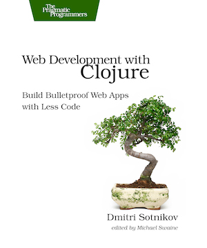 Web Development with Clojure Cover